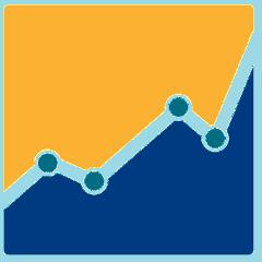 nondescript stylized graph